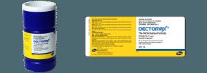 Dectomax product labels