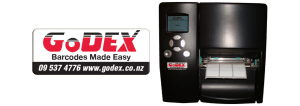 Godex logo sticker