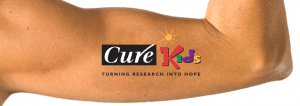 Cure Kids Labels NZ temp tattoo