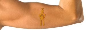 election arm temp tattoo