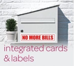 Integrated Cards & Labels